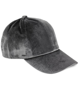 Velvet Baseball Cap - Just Jamie