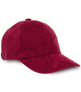 Suede Baseball Cap - Just Jamie