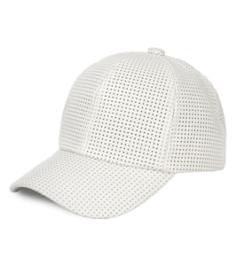 Perforated Baseball Cap - Just Jamie