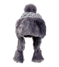 Load image into Gallery viewer, Solid Knit and Faux Fur Hat - Just Jamie