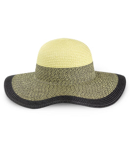 Colorblock Floppy Hat - Just Jamie