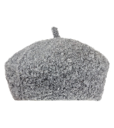 Solid Sherpa Beret Hat - Just Jamie