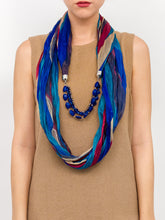Load image into Gallery viewer, Jewelry Striped Tonal Scarf - Just Jamie