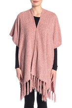 Load image into Gallery viewer, Solid Chenille Kimono with Tassels - Just Jamie