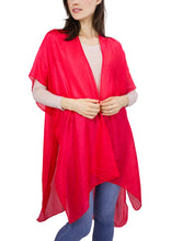 Load image into Gallery viewer, Silky Solid Kimono - Just Jamie