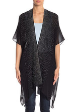 Load image into Gallery viewer, Rhinestone Dressy Kimono with Thick Border - Just Jamie