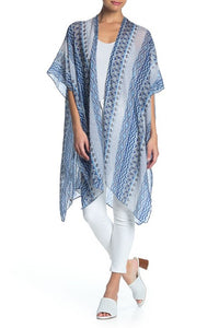 Geometric Kimono with Stones - Just Jamie