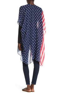 Stars and Stripes Kimono - Just Jamie