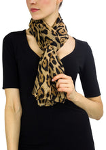 Load image into Gallery viewer, Leopard Animal Scarf - Just Jamie