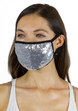 Load image into Gallery viewer, Sequin Face Covering -2pc pack - Just Jamie
