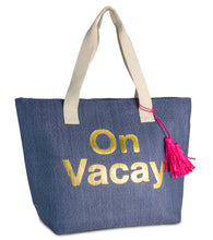 Load image into Gallery viewer, On Vacay Insulated Tote Bag - Just Jamie