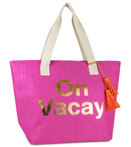 On Vacay Insulated Tote Bag - Just Jamie