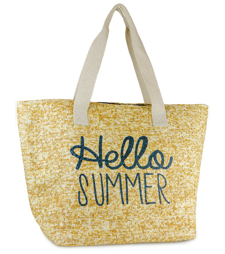 Hello Summer Insulated Tote - Just Jamie