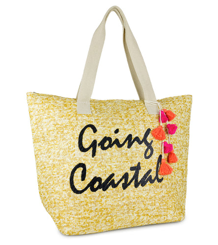 Going Coastal Insulated Tote Bag - Just Jamie