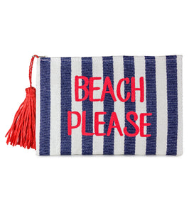 Beach Please Insulated Bikini Bag - Just Jamie