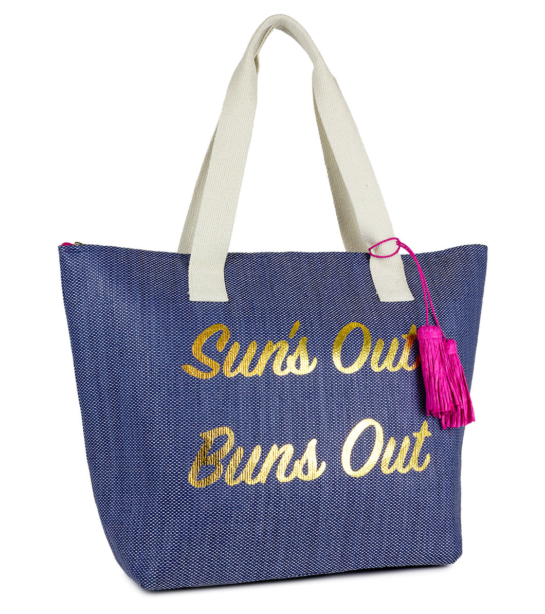 Sun's Out Buns Out Insulated Tote Bag - Just Jamie