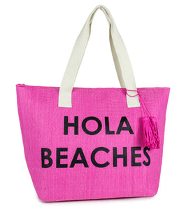 Hola Beaches Tote Bag - Just Jamie