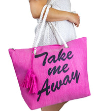 Load image into Gallery viewer, Take me Away Beach Tote - Just Jamie