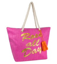 Load image into Gallery viewer, Rose All Day Beach Tote - Just Jamie