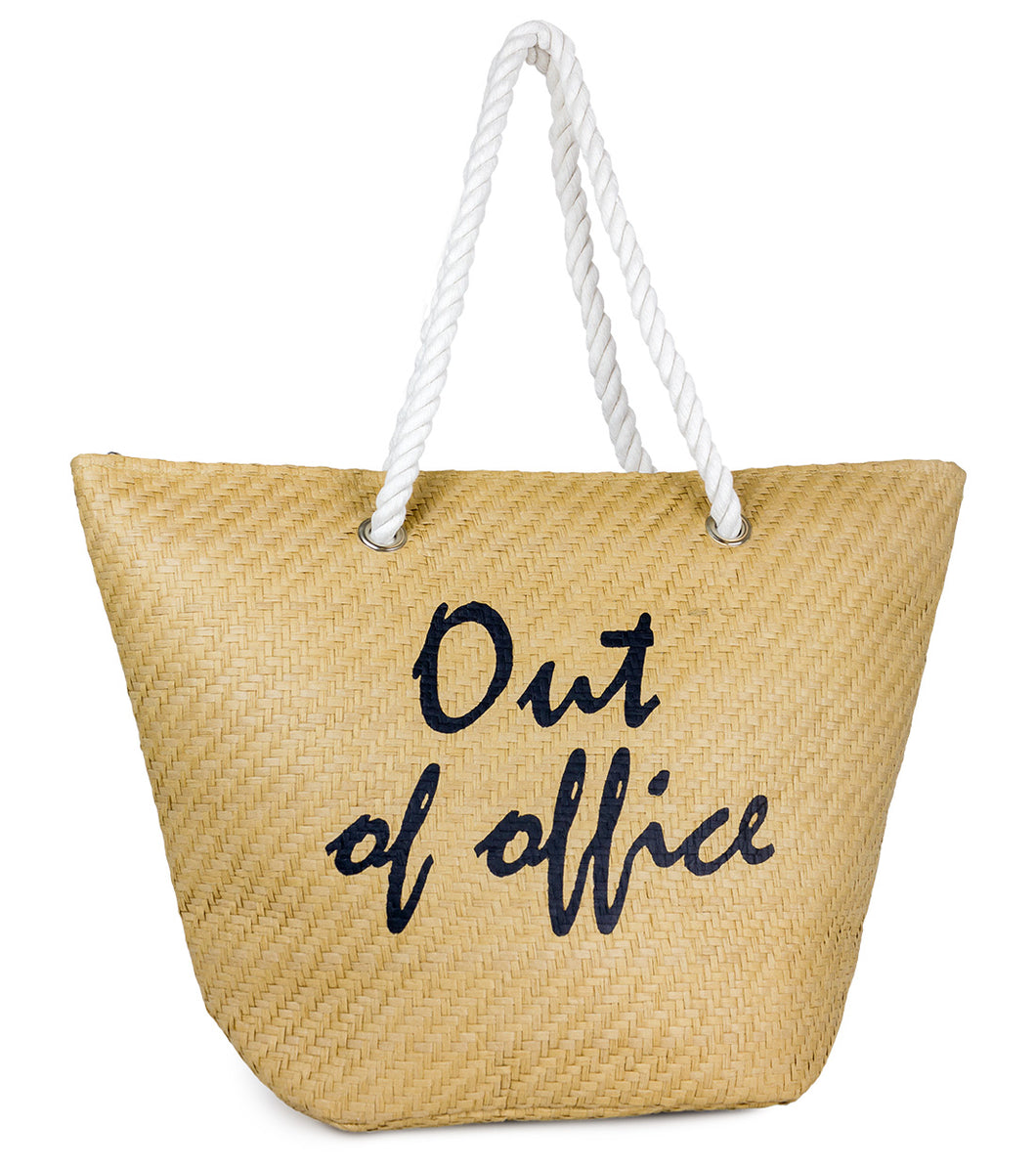 Out of Office Beach Tote - Just Jamie