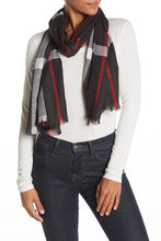 Load image into Gallery viewer, Plaid Shawl - Just Jamie