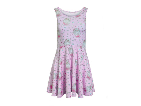 Alpaca Cupcake Skater Dress (LIMITED)