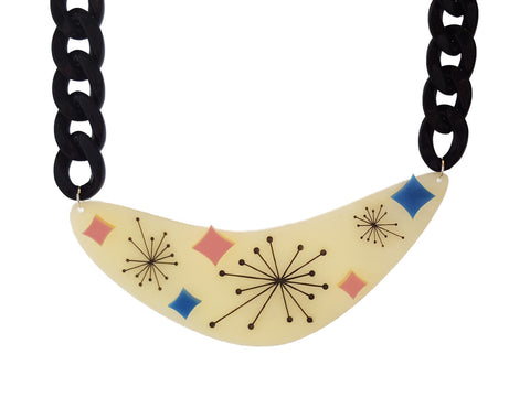 Atomic Statement Necklace
