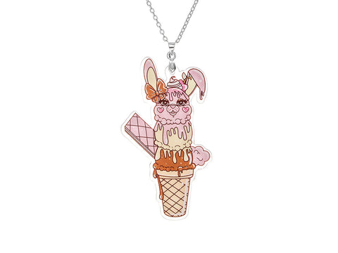 Chubble Bunny Necklace (LIMITED)