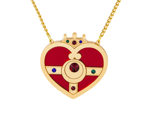 Cosmic Heart Compact Necklace