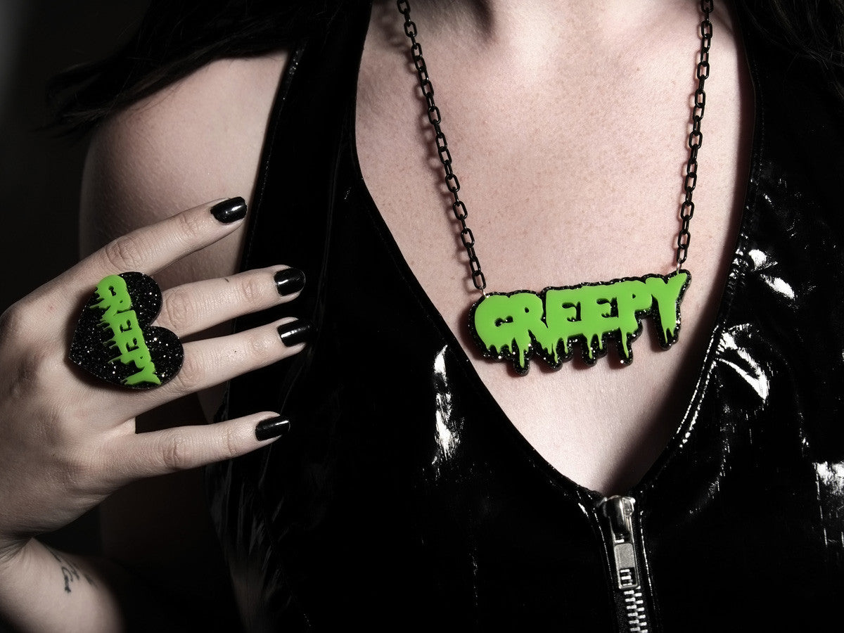 Creepy Necklace -  - 3