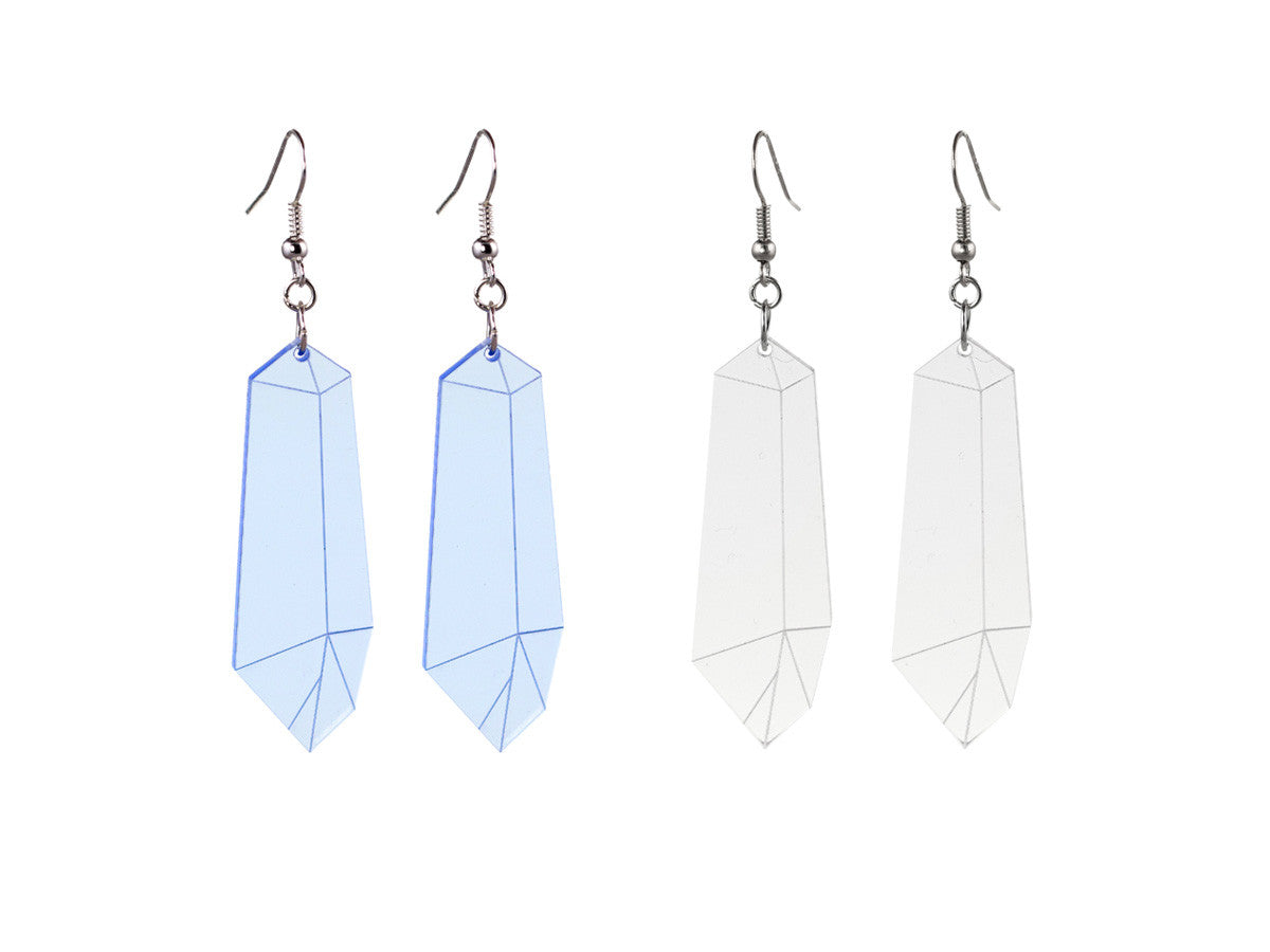 Crystal Shard Earrings - Glitterbomb