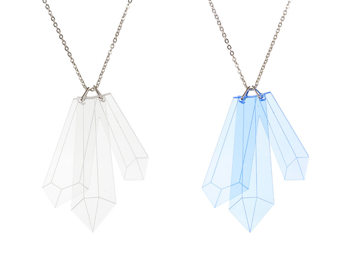 Crystal Shard Necklace - Glitterbomb