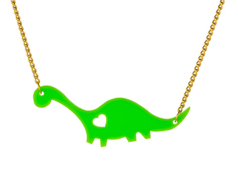 Dippy Dino Necklace