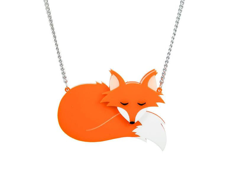 Fox necklac