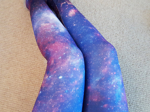 Galaxy Fleece Leggings