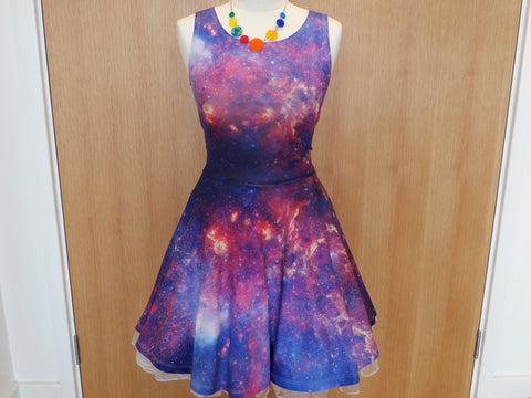 Galaxy Skater Dress (pre-order)