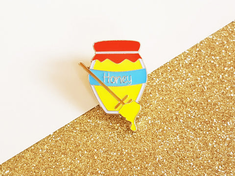 Honey Pot Enamel Pin