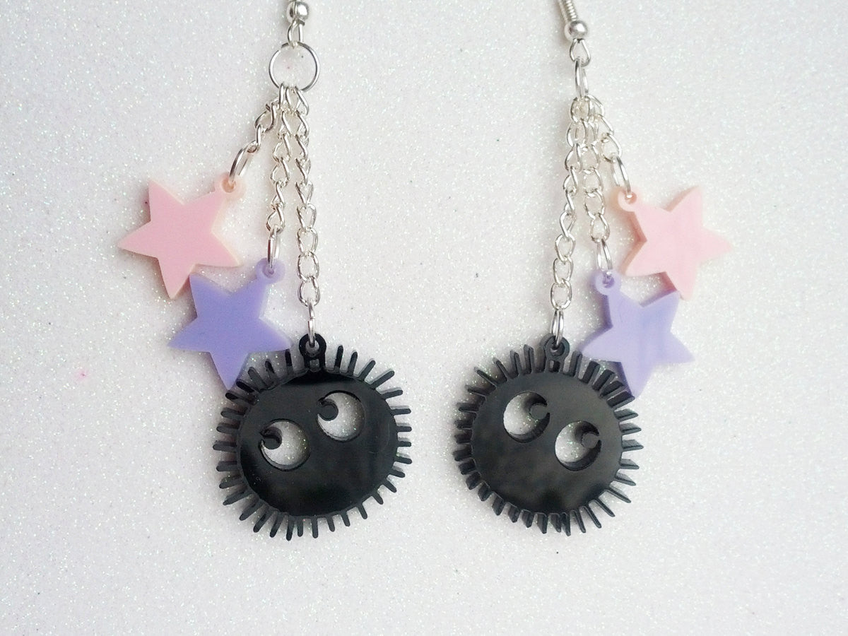 Soot Sprite Earrings -  - 1
