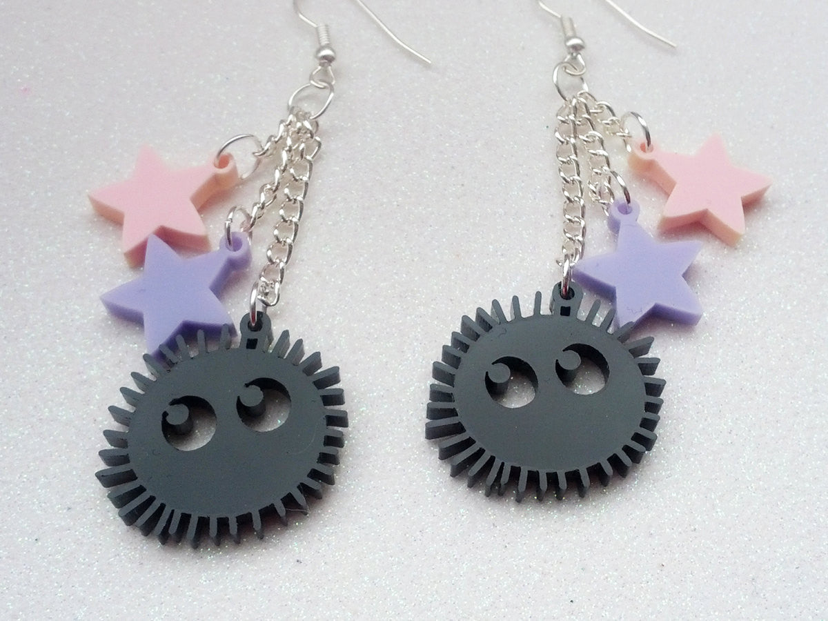 Soot Sprite Earrings -  - 2