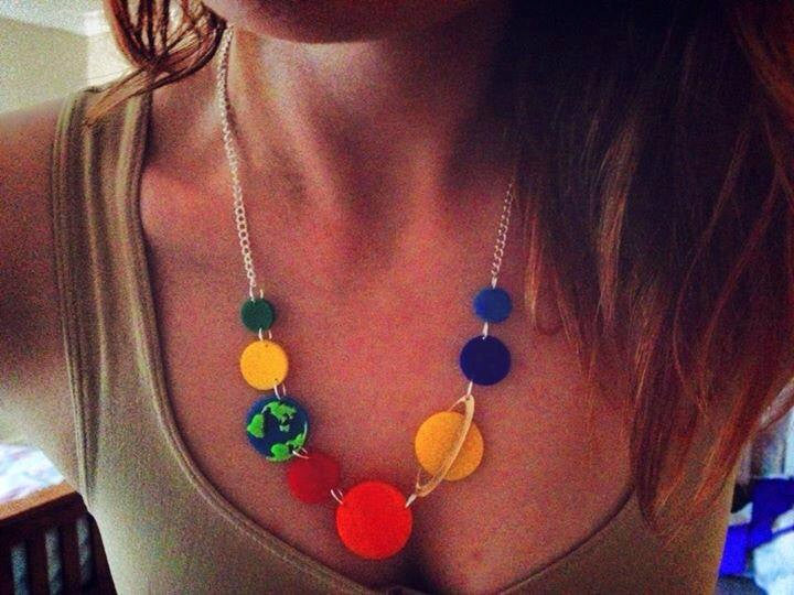 Planets Necklace -  - 3