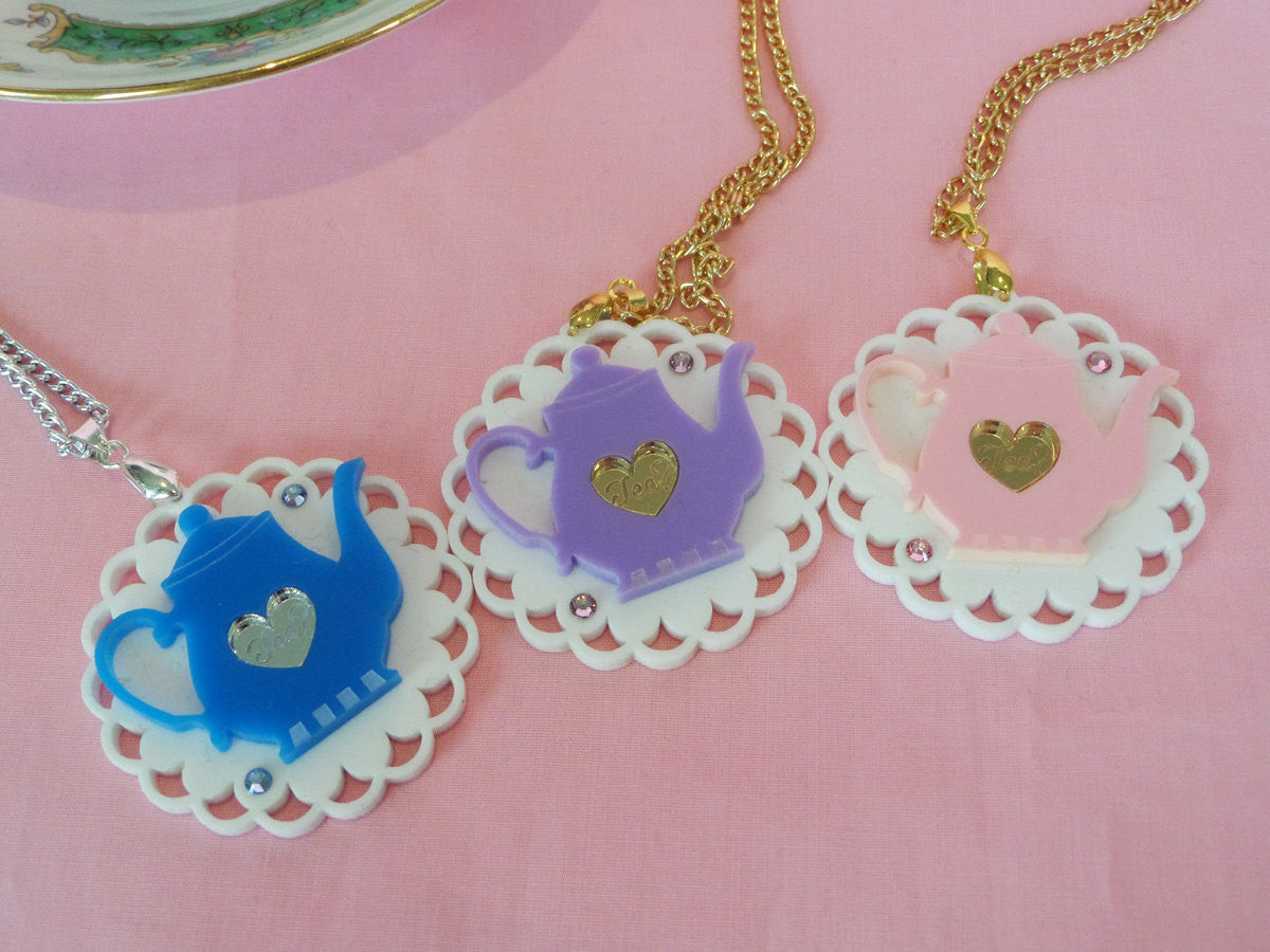Teapot Necklace (LIMITED) -  - 2
