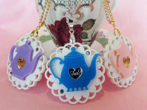 Teapot Necklace (LIMITED)