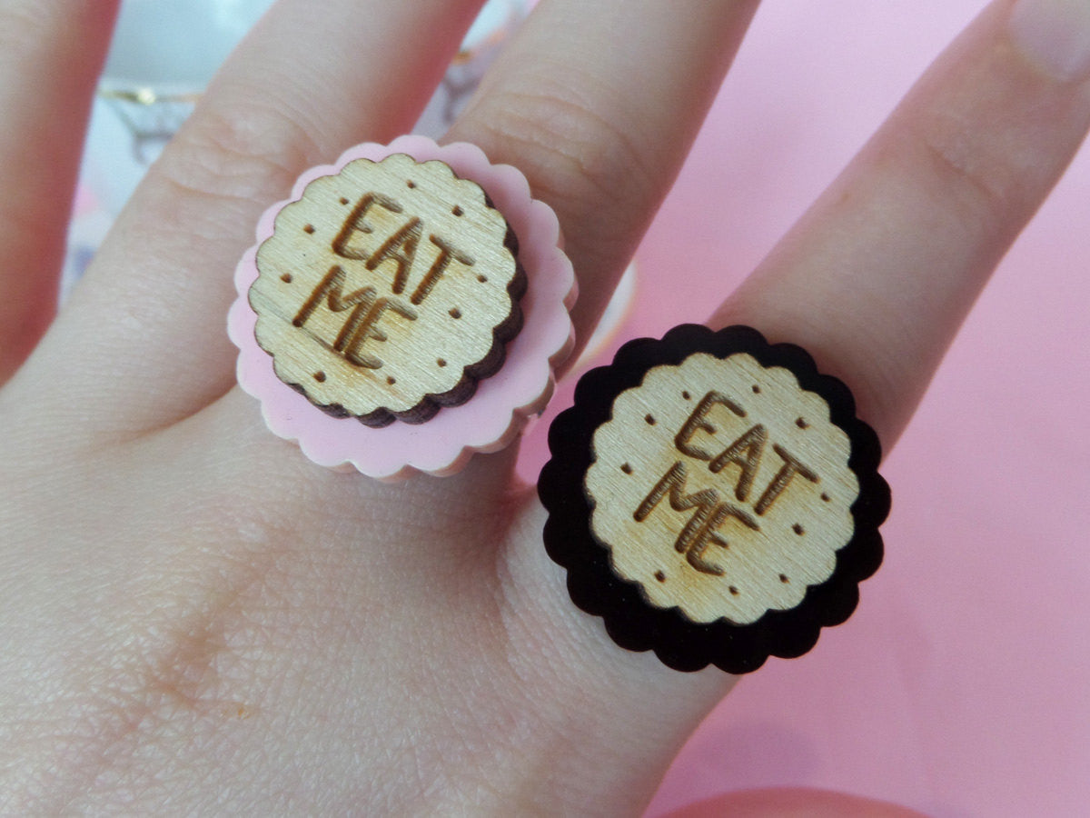 Eat Me Cookie Ring -  - 2