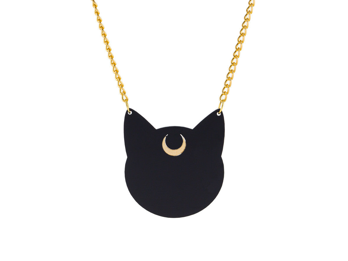 Luna Silhouette necklace -  - 1