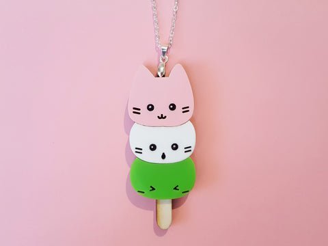 Mochi Kitties Necklace