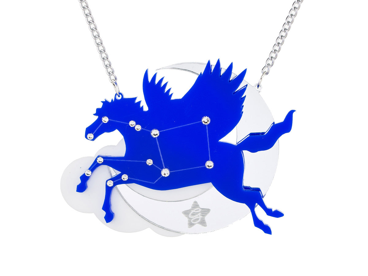 Pegasus necklace -  - 1