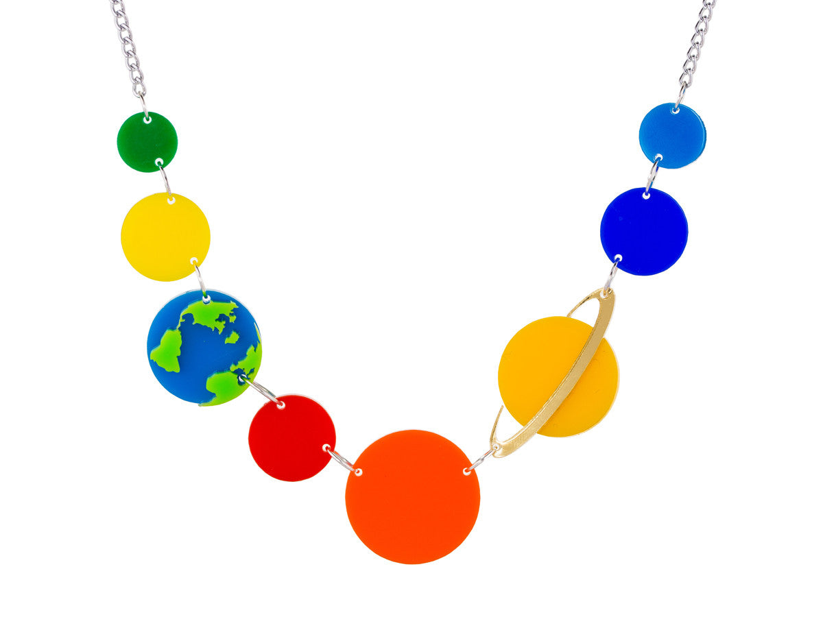 Planets Necklace -  - 1