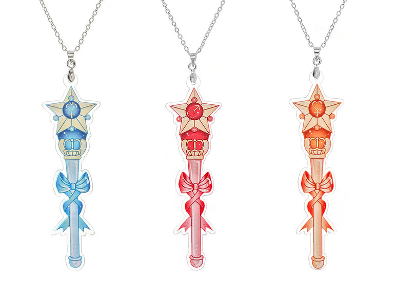 Transformation Wand Necklaces