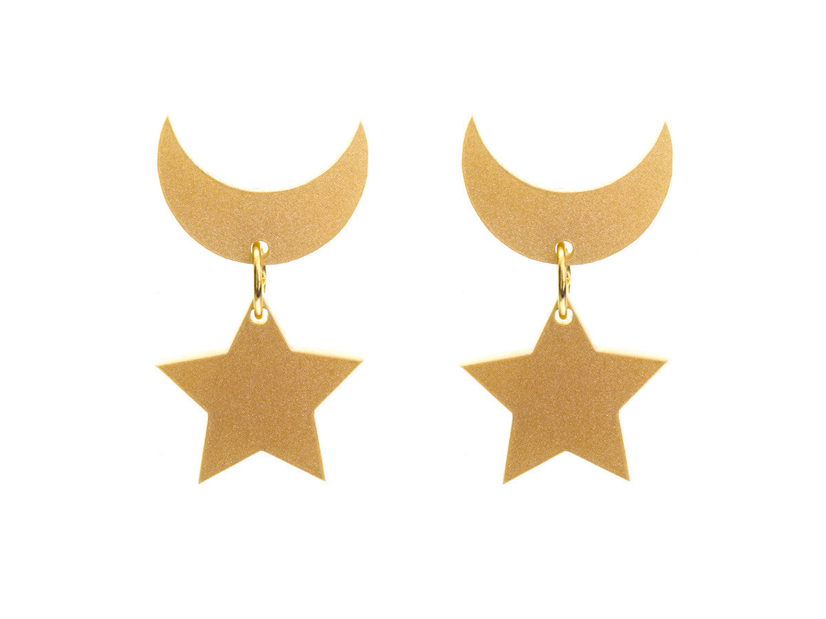 Sailor Moon Earrings (Metallic) -  - 1