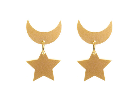 Sailor Moon Earrings (Metallic)